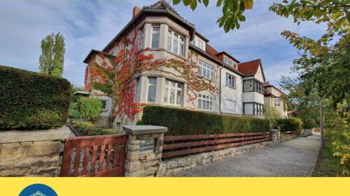 Schöne Stadtvilla mit BUGA-Blick ++Romantischer Garten++Familienfreundliche Lage ++Brühlervorstadt